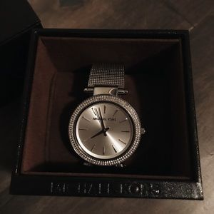 Michael Kors Jewelry - Michael Kors Stainless Steel Pipa Watch
